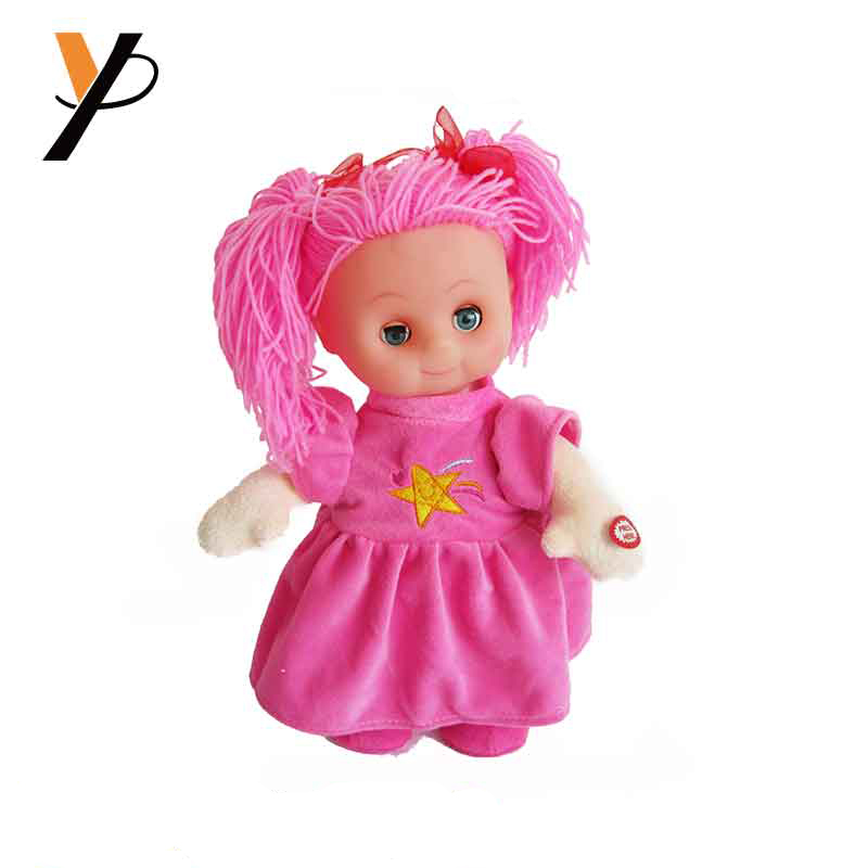 Talking Interactive Singing Storytelling Smart Educational Doll Pink Dress