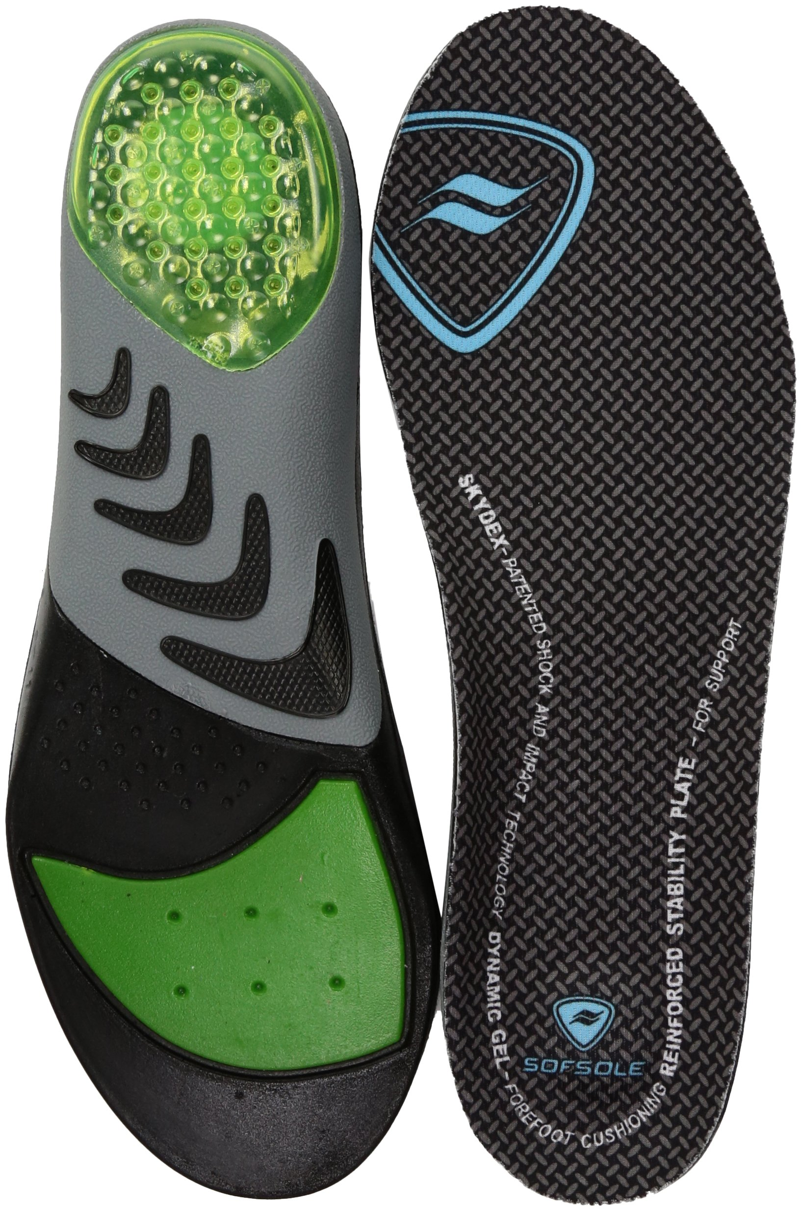 8b8ab69600 Get Quotations · Sof Sole Women's Airr Orthotic Full Length Performance Shoe  Insoles