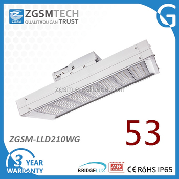 Ip65 Led Street Light 210w Replacing 500w Traditional Light For ...