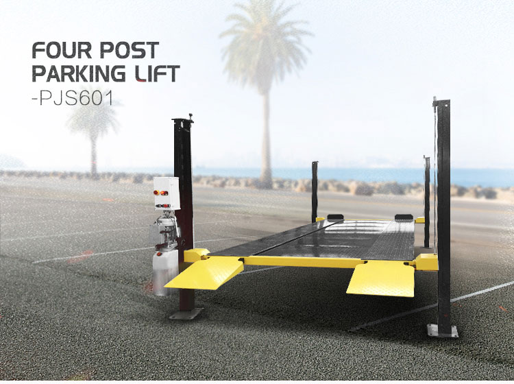 Ideal car parking system and cars post lift from TELIAN 4 post parking lift for cheap price