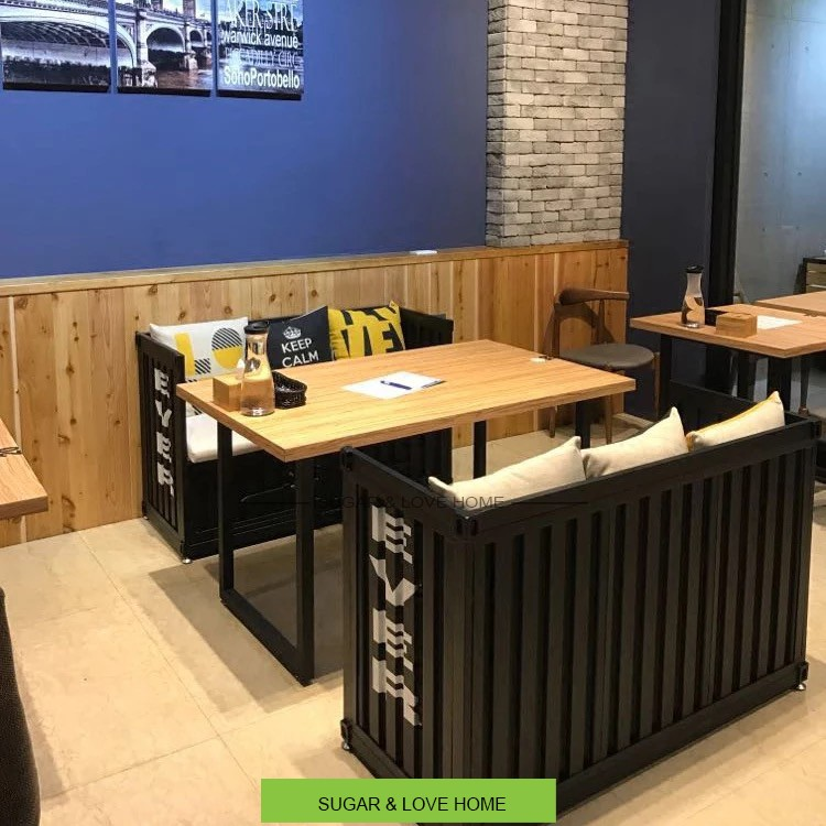 Shipping Container Furniture Restaurant