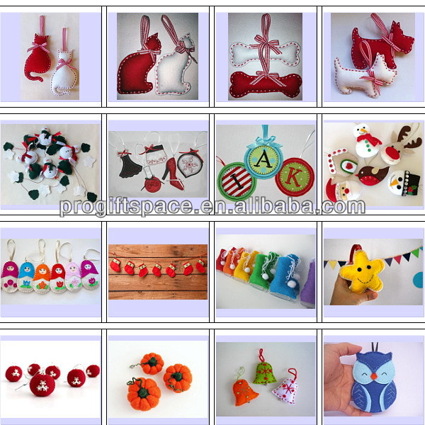 Hot new bestselling product wholesale alibaba Eco friendly Felt Easter Bunny Ornaments made in China