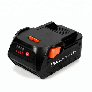 18V Rechargeable Lithium ion Battery for AEG Ridgid Cordless Drill Power Tools Replacement 4000mAh Battery Pack
