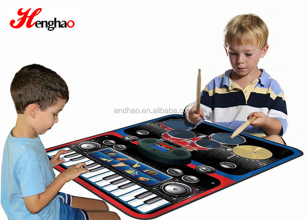 Toy musical instrument children play mat for electronic drums keyboard playmat china alibaba suppliers