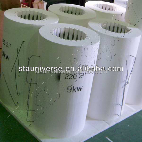 STA cylindrical high temperature ceramic heater for muffle furnace
