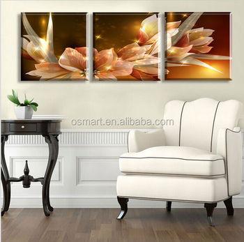 Blume Reliefmalerei Leinwand Gemalt Bild Ölgemälde Zum Schlafzimmer ...