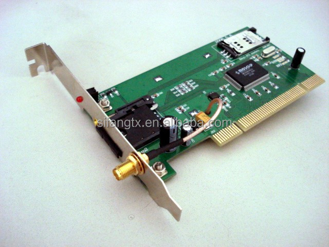 PCI gprs modem 3V SIM card slot with Q24 module