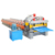 Hydraulic glazed tile roofing plate roller forming making machine