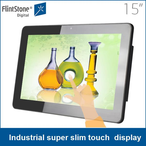 Android tablet pc 15 inch, 15 inch industrial all in one touch screen pc,fashion 15 inch touch screen monitor as POS terminal