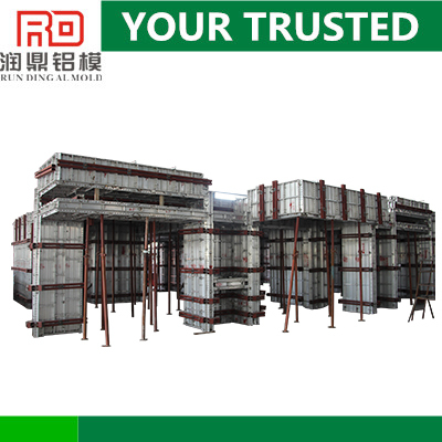 Hot Supply RD Q235 accessories designed real estate aluminum formwork building material