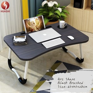Fashion Style Small Laptop Table Portable Laptop Desk Folding Bed Table