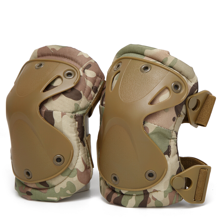 Paintball Outdoor Sports Safety Guard Tactical Knee And Elbow Pads