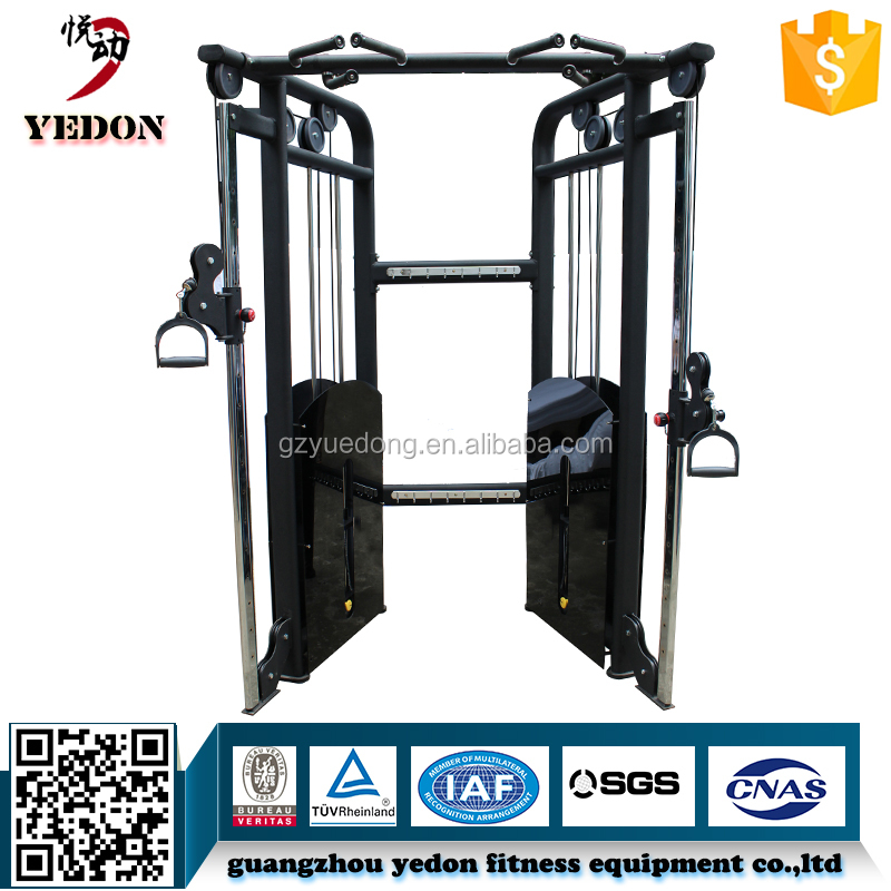 Guangzhou Yedon YD-9828A Dual Pulley Multi-functional Tariner/Small cable Functional Trainer