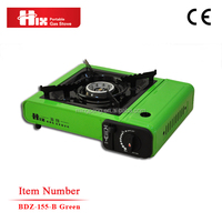 Camping outdoor gas electric cooker