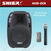 AK8-201 pa speakers professional with bluetooth