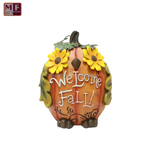 Resin Welcome Fsll Pumpkin Ornament Thanksgiving Decorations