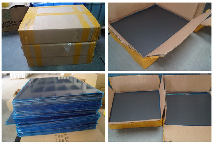 Excellent structural properties gloss and plain 3k carbon fiber sheet sample
