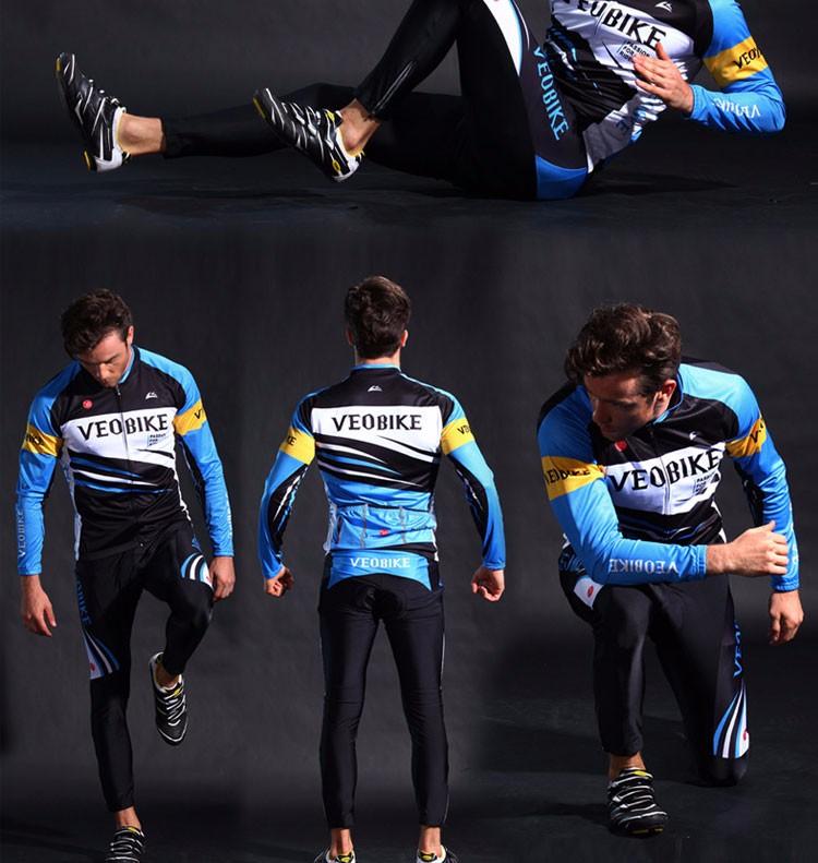 2eb1c44e7 Mens Mountain Bike Riding Apparel Long Sleeve MTB Cycling Jerseys Road  Bicycle Clothing