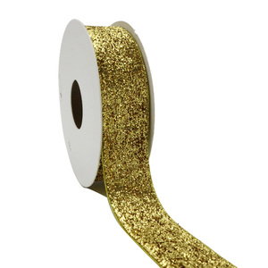 Small MOQ Wholesale 19MM Luxury Gift Chocolate Package Gold Metallic Ribbon