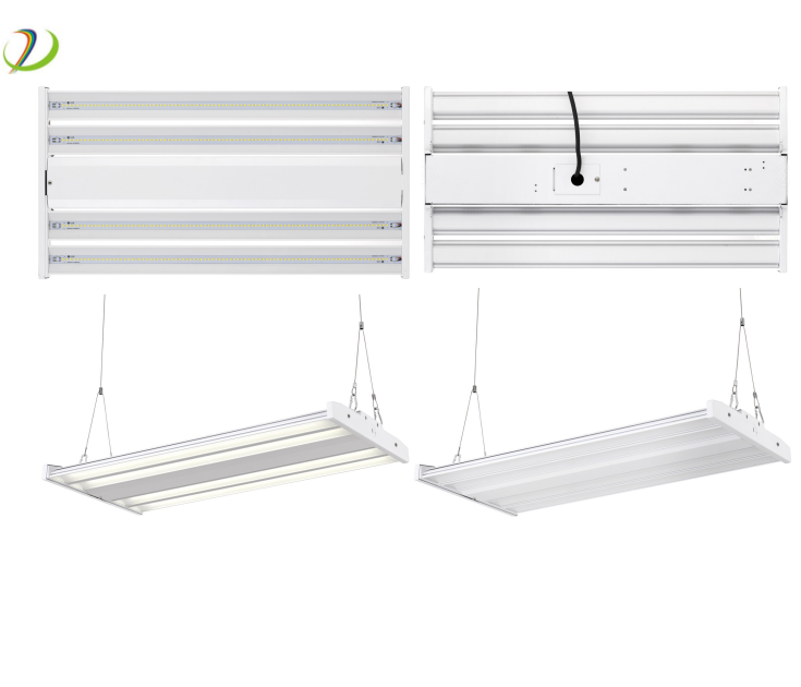 DLC pendant light highbay warehouse lamp industrial led linear high bay light 100W/150W/200W/320W/240W linear LED highbay light