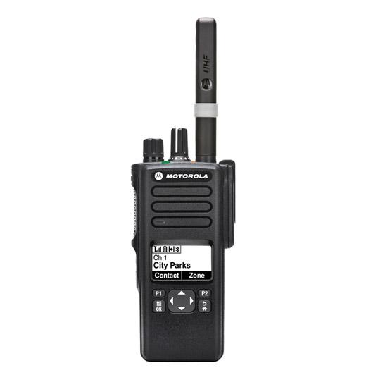 Motorola MotoTrbo P8628 High Range Digital Portable Radio For Security And  Business
