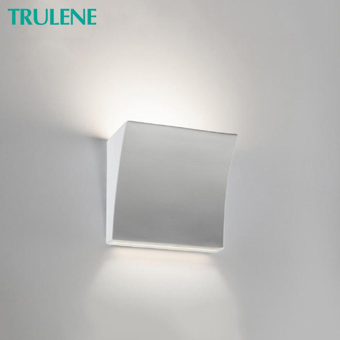 Gypsum aluminum GU10 MR16 Stair step illumination light corner wall led light