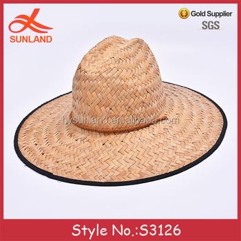 S3126 fashion 2017 summer wide brim hats mens straw surf hats for sale b8cbb1b08ce