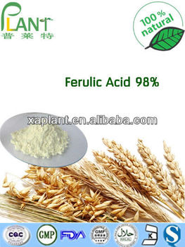 Best Price Ferulic acid powder 98%