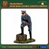 Custom made wholesales collectible pewter war soldier toy