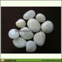 decoration white river stone