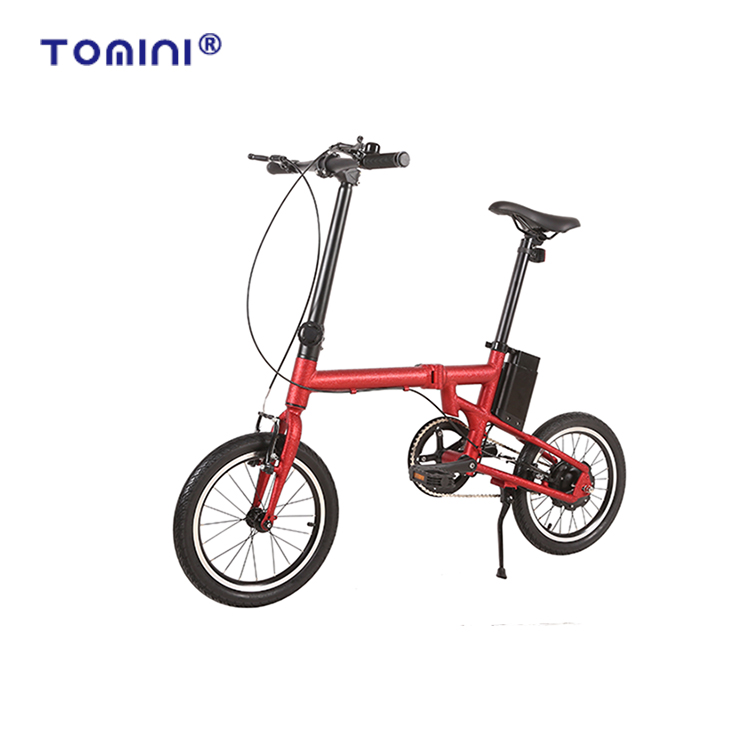Mini new style aluminum alloy folding lady electric <strong>cycle</strong> e city bike jaunty folding bike bicycle