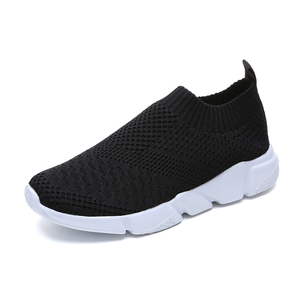 latest design hot sale flyknit mesh sport shoes women sneakers walking and running shoes