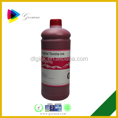 CMYK Reactive Dye ink for DX5 Digital Textile Printer