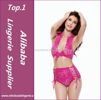 716d8367414 nieuwe 2016 sexy vrouwen roze kant babydoll nachtjapon nachtkleding lingerie