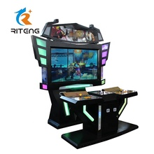 Entertainment Unit Straat Fghter 4 <span class=keywords><strong>Arcade</strong></span> Game 55 Inch Scherm 3D Video Game Machine