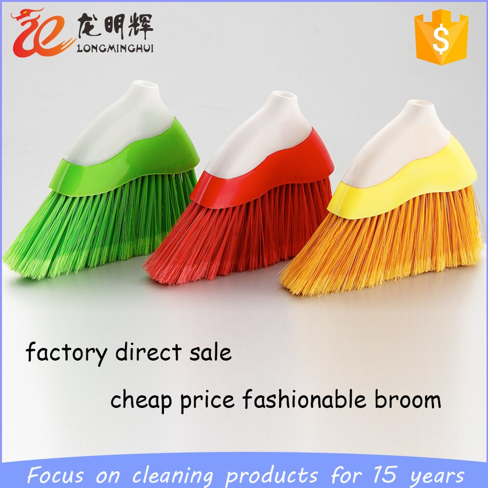 high quality plastic cleaning soft broom with PP PET bristle
