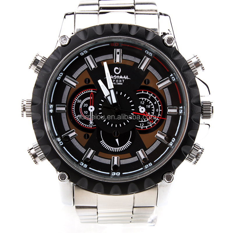 Fashion HD 1080p Camera Watch IR Night Vision