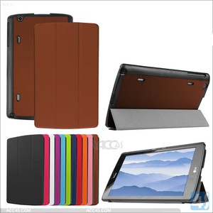 Folio PU Leather Flip Folding Stand Cover Case For LG G Pad V500 8.3 tablet