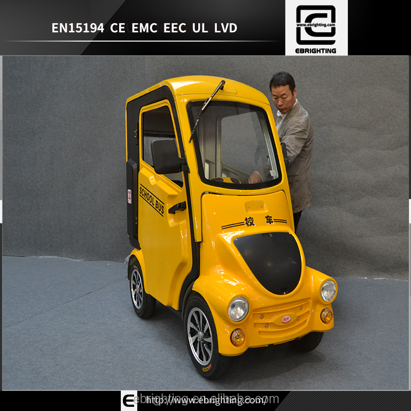 EEC new cabin four 4 wheel electric scooter fully enclosed mobility scooter with roof 1200w 24v/40ah adult electric scooters
