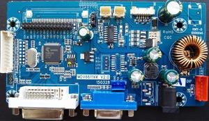 Universal Monitor driver main board of china lenovo dell hkc etc with  amplifier