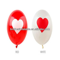 Colorful lovely balloons with printed