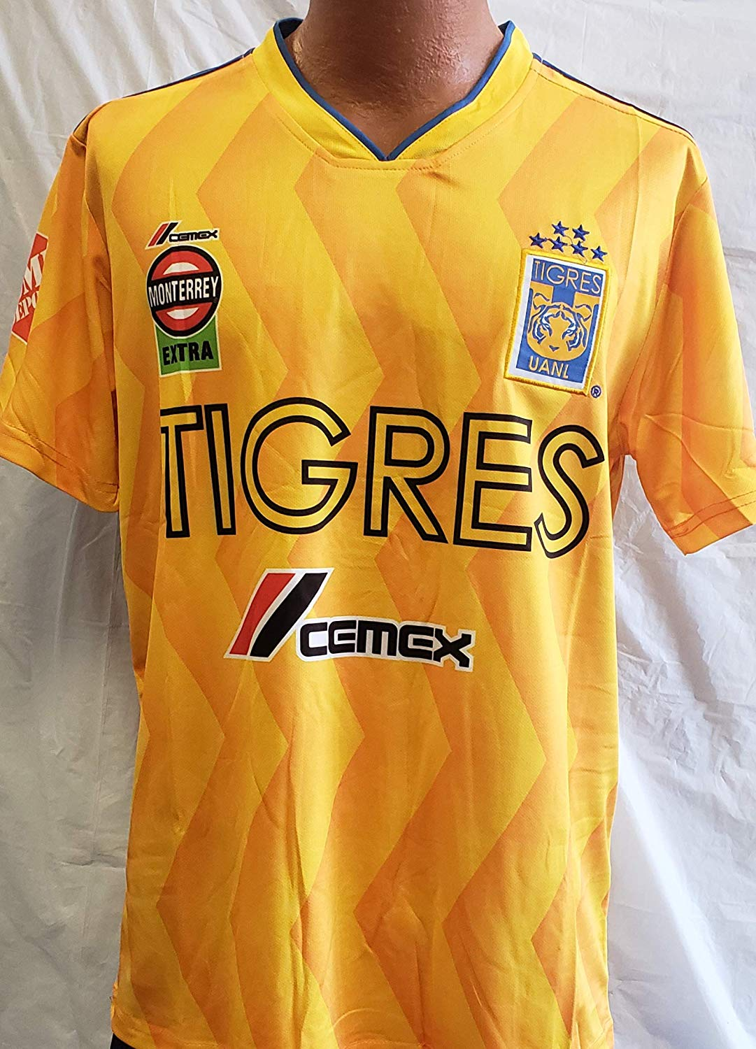 f9e840d6f Get Quotations · New! Liga MX Club Deportivo Tigres Home Jersey Size Small