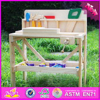 2016 Best design tool toy wooden toddler educational toys W03D022
