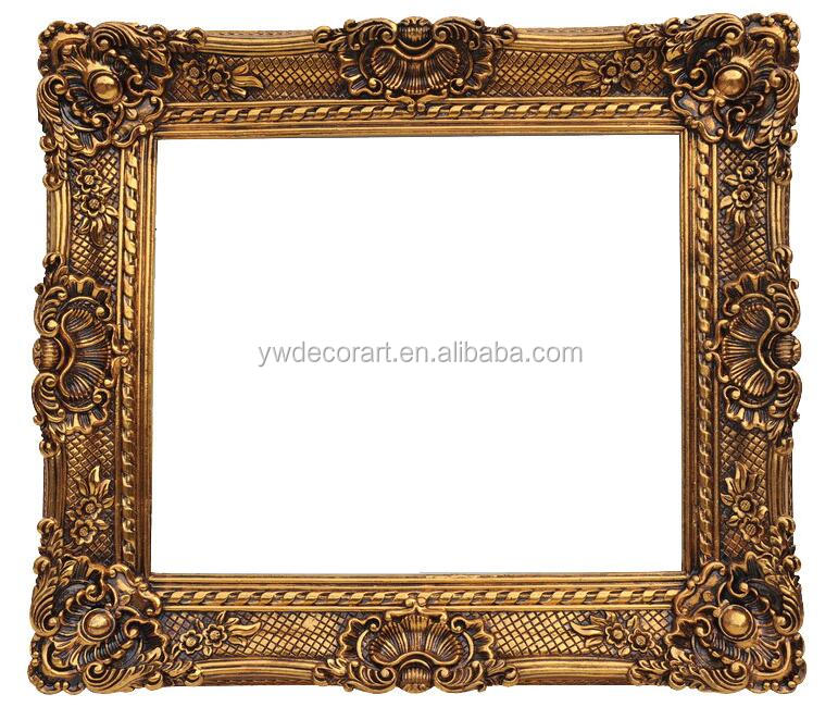 Original Design 50X60cm Antique Painting Frame For Oil Painting European style Frame