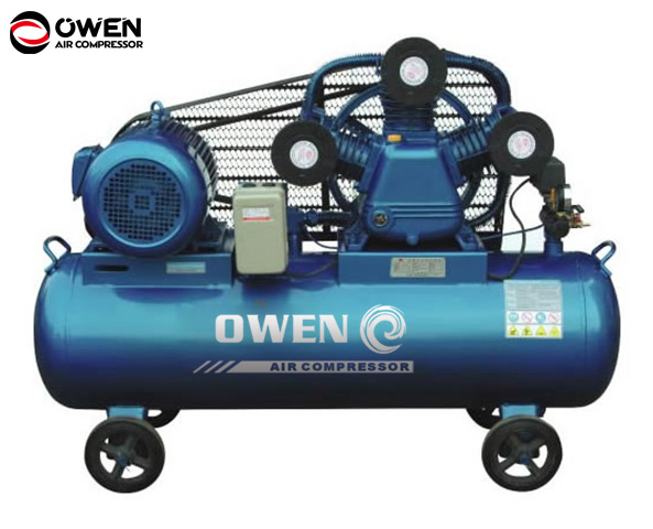 8bar 7.5hp three cylinder type ac piston 3-cylinder air compressor