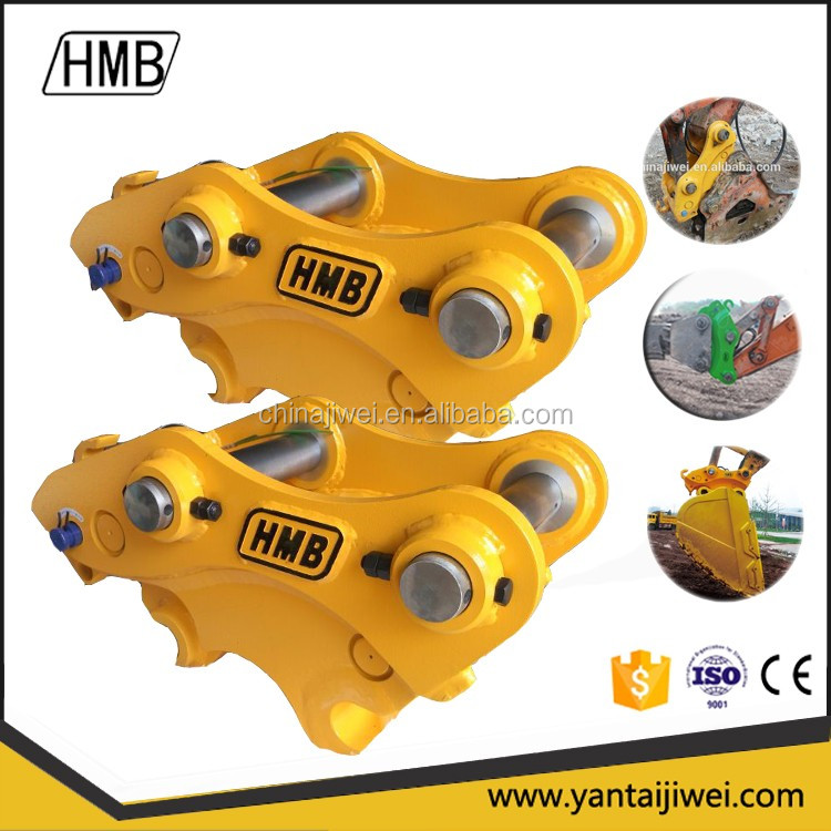 hydraulic quick coupler for excavators