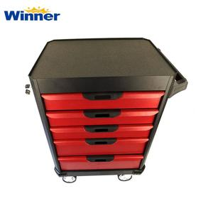 WKH05 Popular 5 Drawers Tool Cabinet with Hand Tool Set Storage