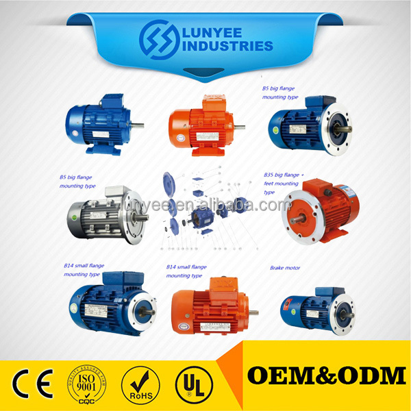 Waterproof High Power Electric Motor IP68