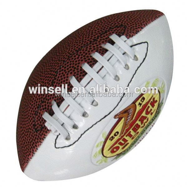 High quality popular official size 9 pu american football