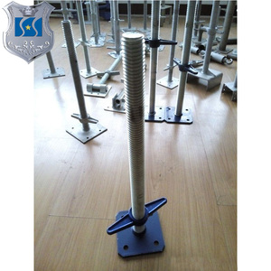 Low price type of screw jack / Scaffolding shoring base jack for construction